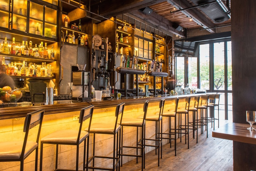 Amazing hospitality design tips for bar projects! hospitality design Amazing hospitality design tips for bar projects! warm bar of Chicago   s Tippling Hall