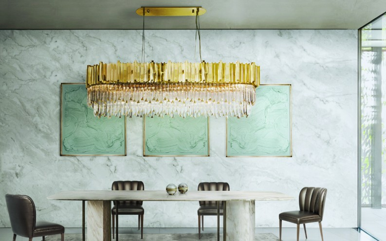 7 outstanding marble decor ideas for your dining room for M dining room frankfurt