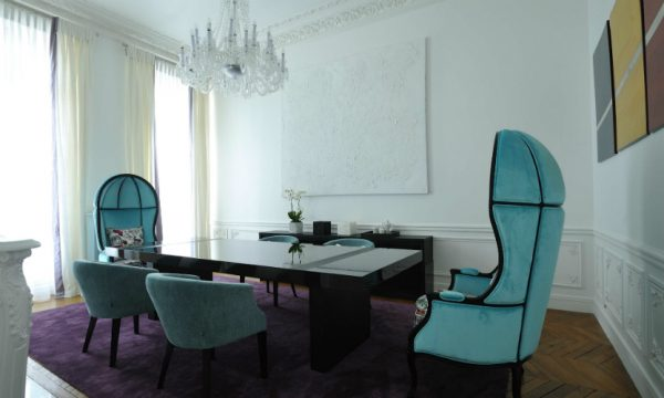 BRABBU at Art Chic Apartment: Interior Design Project by PFB Design