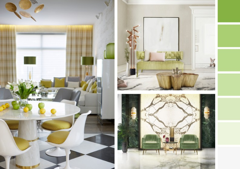 7 Ultimate Interior Design Tips with Spring Greens! 7 Ultimate Interior Design Tips with Spring Greens! 7 Ultimate Interior Design Tips with Spring Greens! moodboard by brabbu 25 HR