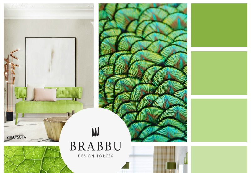 7 Ultimate Interior Design Tips with Spring Greens! 7 Ultimate Interior Design Tips with Spring Greens! moodboard by brabbu 7 HR 1 1