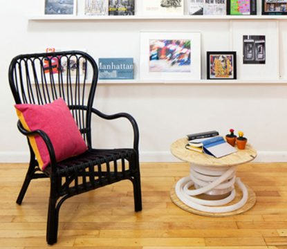 7 Summer Design Trends from a fun NYC office inspired by the Flatiron District