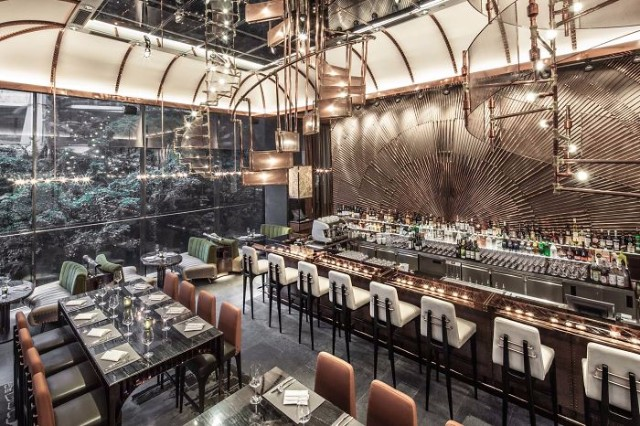 10 Incredible Restaurant Interior Design Projects Around The World #interiordesign #restaurantdesign #designinspiration  10 Incredible Restaurant Interior Design Projects Around The World Ammo Restaurant Hong Kong China