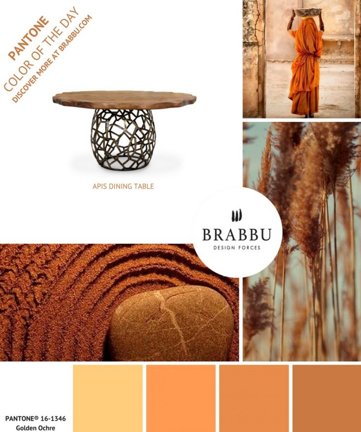 5 COLORFUL DECORATING IDEAS WITH PANTONE COLORS OF THE DAY decorating ideas 5 COLORFUL DECORATING IDEAS WITH PANTONE COLORS OF THE DAY Golden Ochre e1498581118371