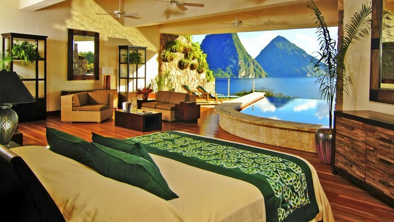 Meet the 7 Best Hotels Suite Views In The World  best hotels Meet the 7 Best Hotels Suite Views In The World Jade Mountain St
