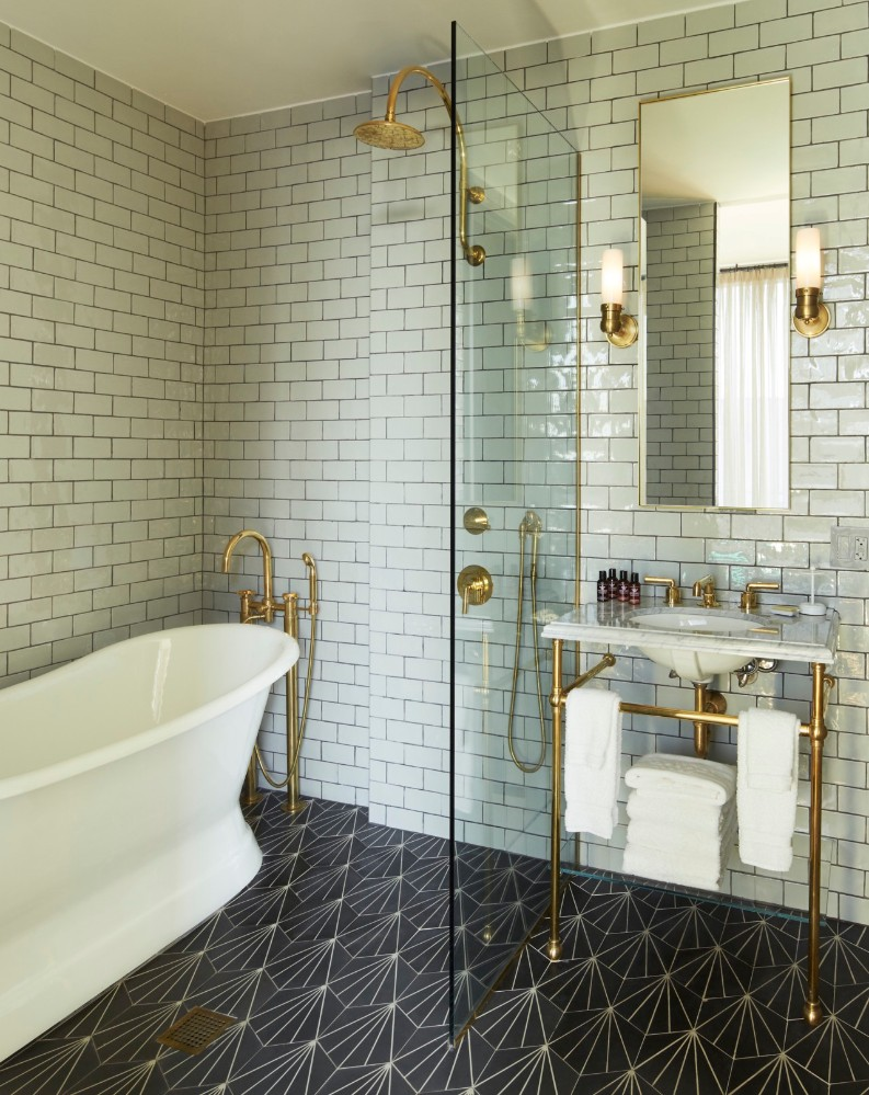 7 Retreats Of The Incredibly Modern Williamsburg Hotel Interior Design 7 Retreats Of The Incredibly Modern Williamsburg Hotel Interior Design 7 Retreats Of The Incredibly Modern Williamsburg Hotel Interior Design williamsburg hotel bathroom 1