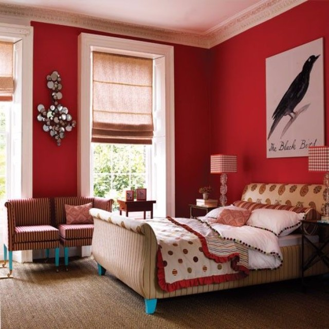 13 Fantastic Ways To Add Color To A Bedroom Decor | Modern Interior Design. Bedroom Design. #interiordesigninspiration #bedroomdecor #homedecor Discover more at: https://www.brabbu.com/en/inspiration-and-ideas/ bedroom decor 13 Fantastic Ways To Add Color To A Bedroom Decor 13 Fantastic Ways To Add Color To A Bedroom Decor 7
