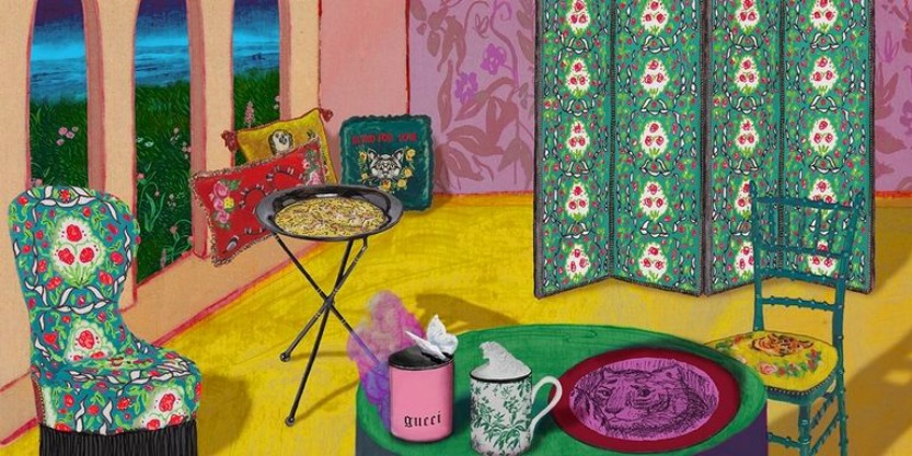 GUCCI Launched A Home Decor Collection You Will Love