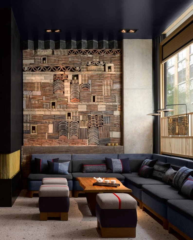 The contemporary asian hospitality design of nobu hotel for Best modern hotels in london