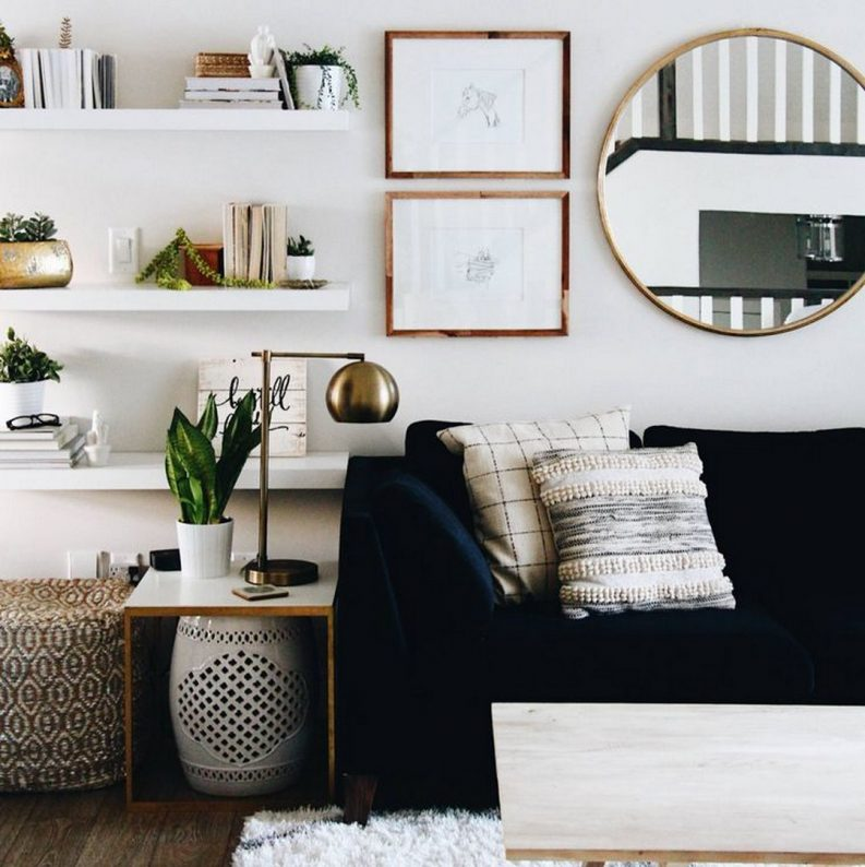 10 Magical Wall Mirrors To Boost Any Living Room Interior Design | Living  Room Design,