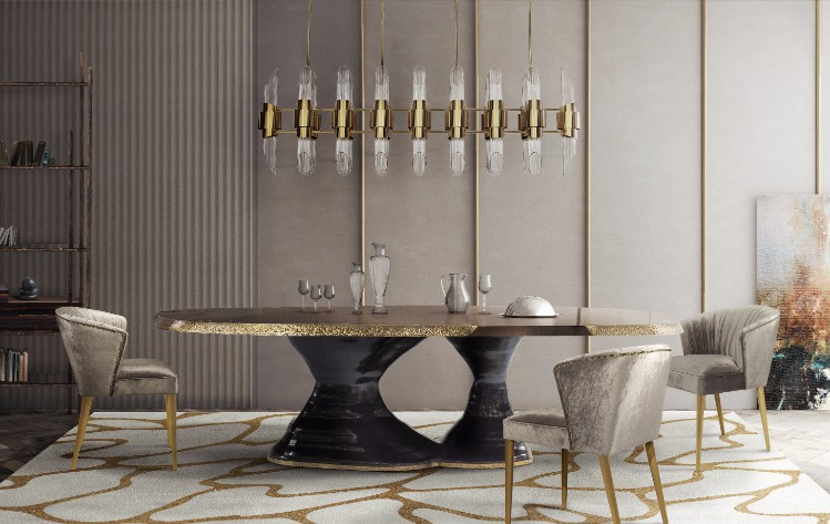 Discover BRABBU's new High-End Design Furniture Releases design furniture Discover BRABBU's new High-End Design Furniture Releases 124 Plateau dining Table Nuka dining chair 1