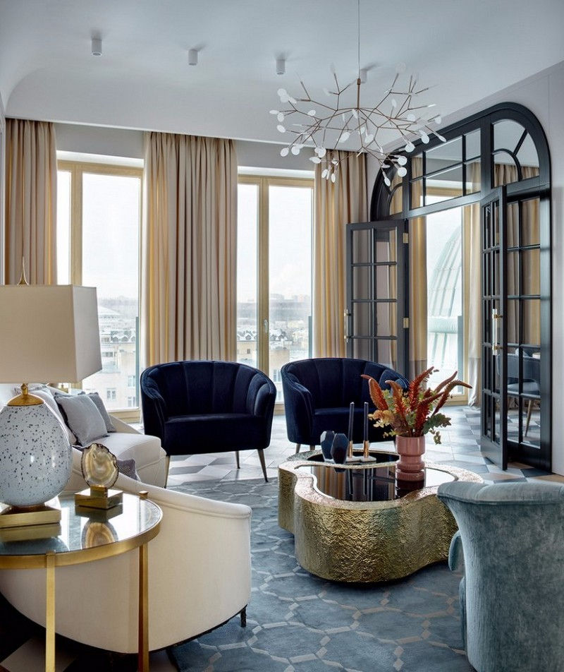 This elegant apartment is what home decor dreams are made for Interior design appartamenti