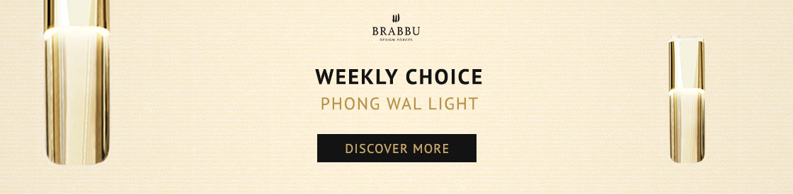 A Modern Wall Light that will be on trend in 2018 | Piece of the week modern wall light A Modern Wall Light that will be on trend in 2018 | Piece of the week banner phong