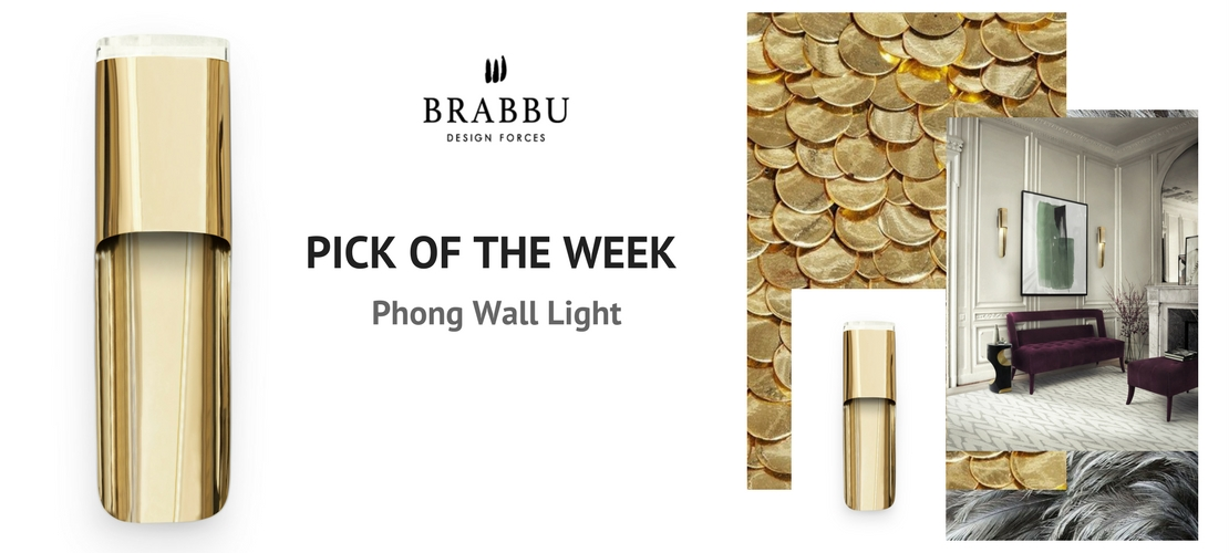 A Modern Wall Light that will be on trend in 2018 | Piece of the week