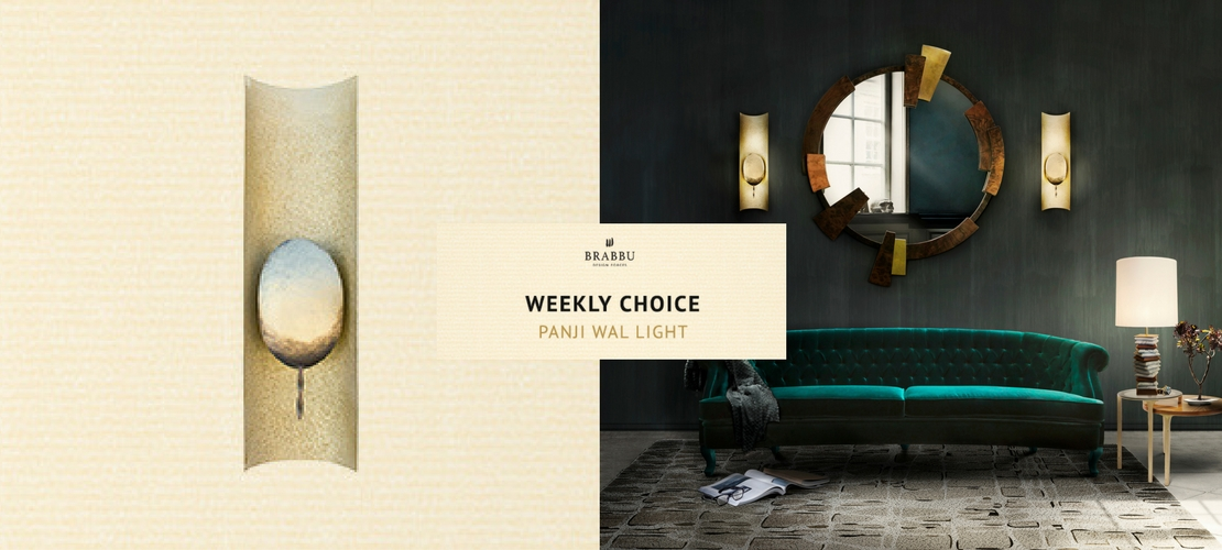 A modern wall light to inspire 100 decor ideas | Piece of the week