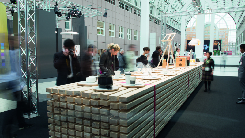 Exhibition Stand Themes : Ambiente the trade fair that brings future into