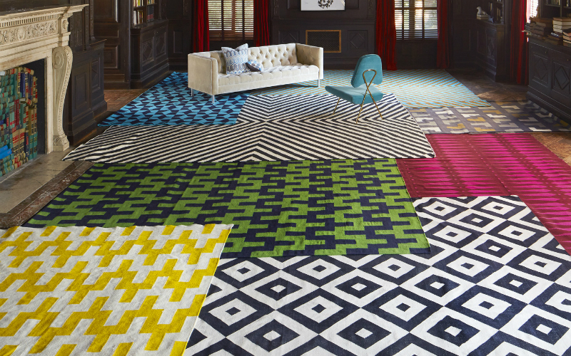 JONATHAN ADLER Be Inspired by Jonathan Adler rugs collection Capa