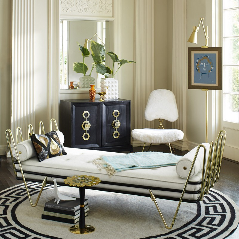 Be Inspired by Jonathan Adler rugs collection JONATHAN ADLER Be Inspired by Jonathan Adler rugs collection Greek key border rug