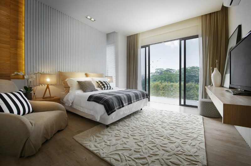 How to bring a modern rug into your bedroom modern rug How to bring a modern rug into your bedroom modern rug1