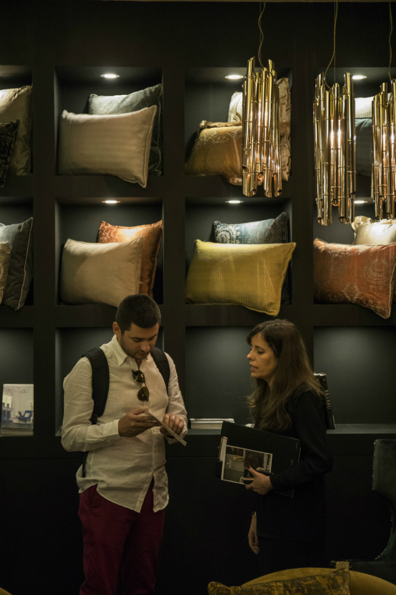 Best moments of BRABBU Apartment at iSaloni 2018