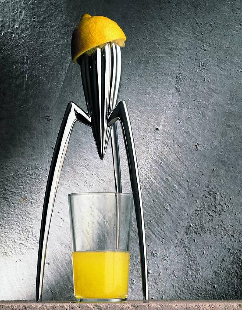 Philippe Starck philippe starck Philippe Starck, the French Genius of Design alessi alessi presse agrumes juicy salif lemon squ