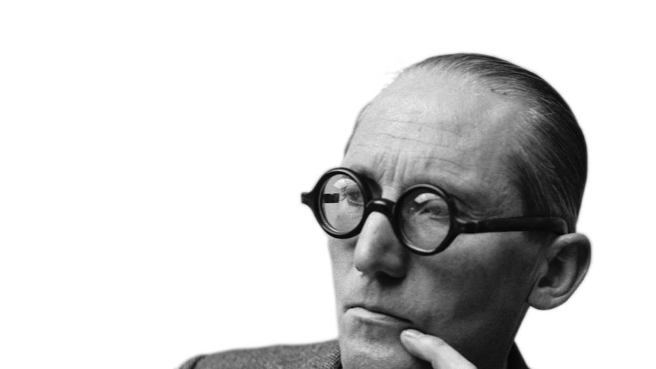 le corbusier A genius visionary, the Franco-swiss architect Le Corbusier le corbusier regard