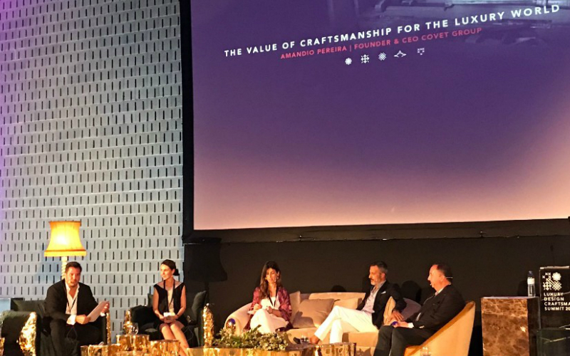 DESIGN AND CRAFTSMANSHIP SUMMIT LUXURY DESIGN AND CRAFTSMANSHIP SUMMIT 2018: DAY 1 cover