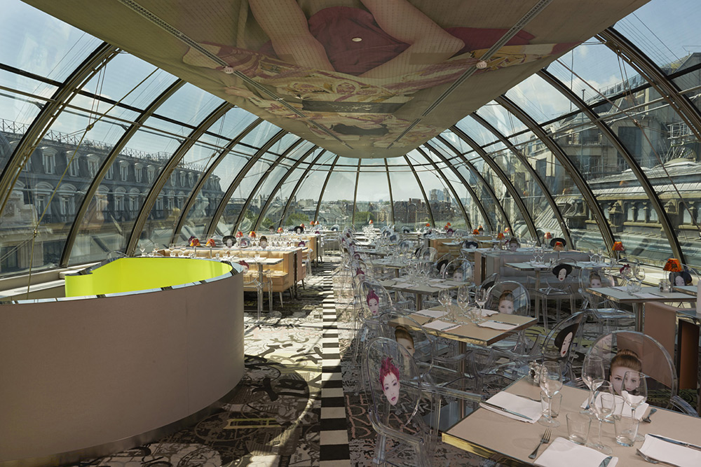 Le restaurant KONG paris Paris Design Guide: The Best Places to Celebrate Design 8 1