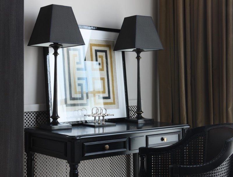 Add Bureau Royal Aesthetics In Every Element Of The Interior