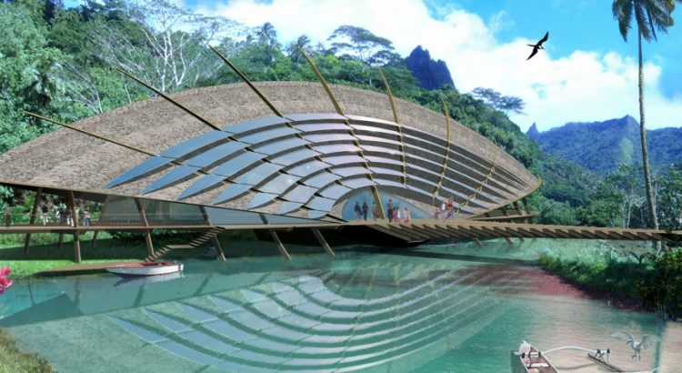 jacques rougerie Jacques Rougerie, the architect of the sustainable development ? 1 Moorea Grand format 750x410