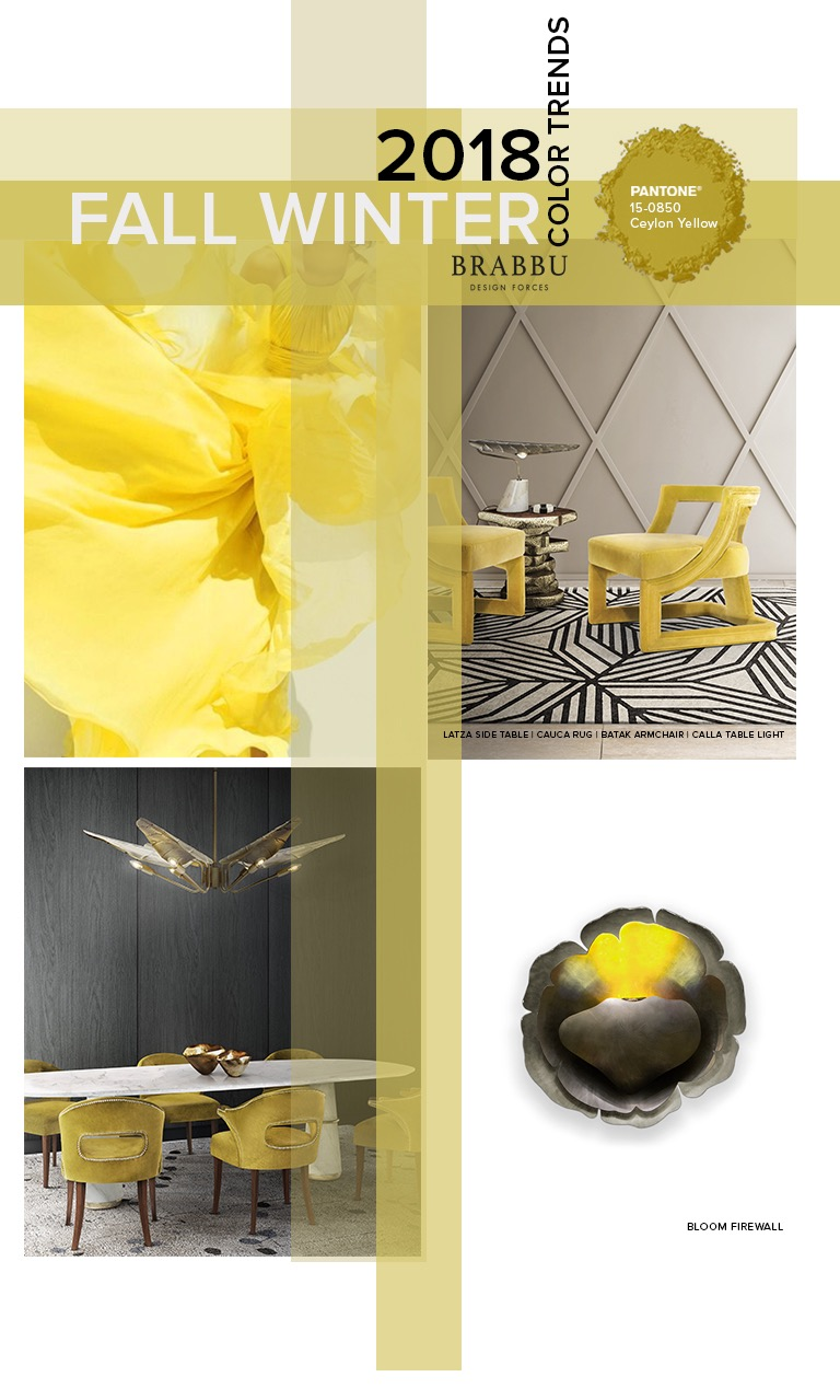 Interior Design Trends 2018: 9 Tips to Spice Up Your Interiors with Fall/Winter Pantone Color Palette