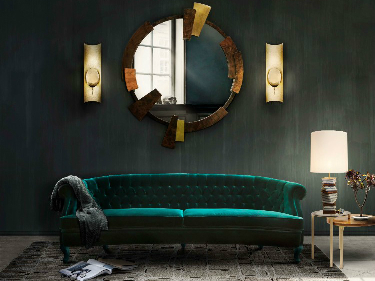 wall mirrors 10 Wall Mirrors That Promise to Spruce Up Any Home Interiors cc