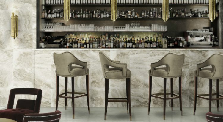 interior design trends Interior Design Trends: Top 10 Bar Chairs You Can't Miss BRABBU   s New Collection Colorful Bar Stools 6 750x410