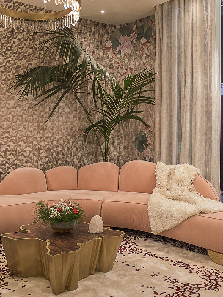 BRABBU Fitzroy Sofa Shines at Maison et Objet 2018 home inspiration ideas