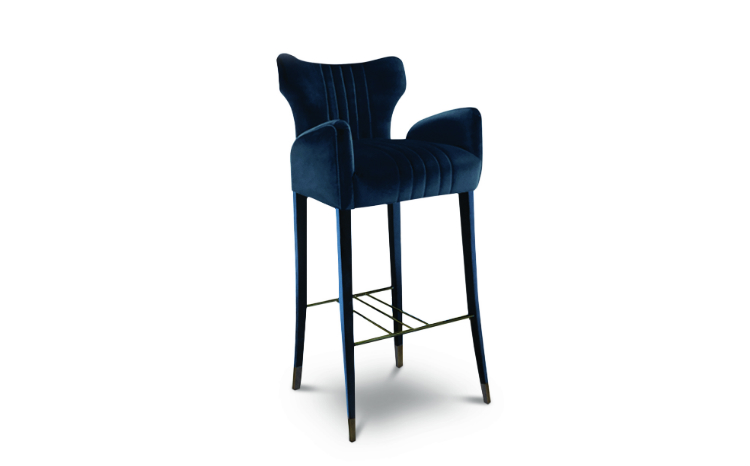 DAVIS Bar Chair - Interior Design Trends interior design trends Interior Design Trends: Top 10 Bar Chairs You Can't Miss davis bar chair 1 HR interior design trends