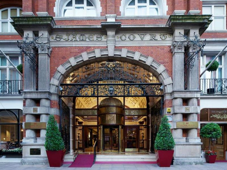 Hospitality Design Trends: All about Taj Hotel in London hospitality design trends Hospitality Design Trends: All about Taj Hotel in London sant james front