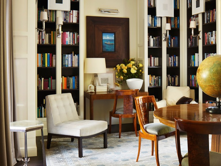 A library in San Francisco with a modern and luminous touch - Interior Designers interior designers Top 10 Interior Designers in New York Dan Fink 2 Interior Designers