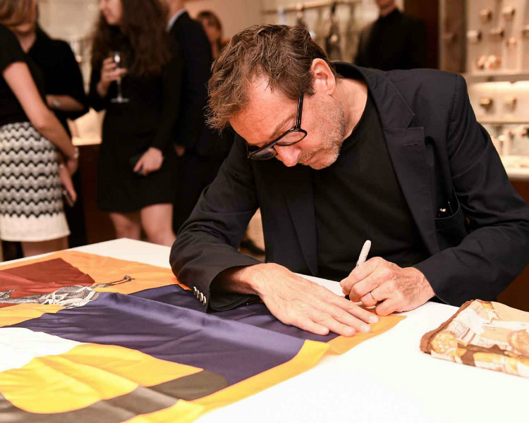 Partnership between Hermés and Pierre Charpin hit interior design fans Interior Design Partnership between Hermés and Pierre Charpin hit interior design fans P 169 EVENT Pierre Charpin 3