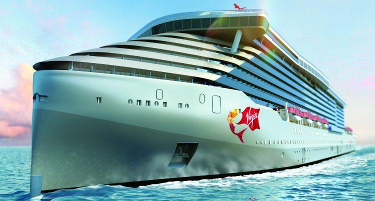 interior design Hot Spot in Cruise Interior Design: Branson's new line Virgin Voyages Virgin Voyages Interior Design 750x402