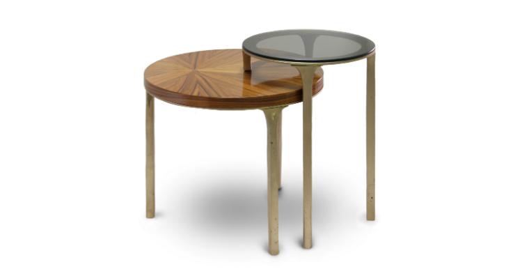 LURAY SIDE Table by BRABBU - Interior Design Trends