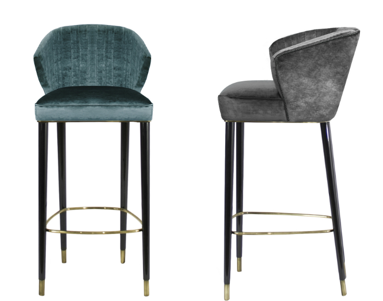 NUKA Bar Chair - Interior Design Trends interior design trends Interior Design Trends: Top 10 Bar Chairs You Can't Miss mid century modern bar chair nuka bar counter chair contemporary transitional mid b6b6c5843cdbf4e0