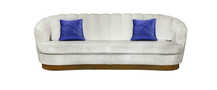 interior design Hot Spot in Cruise Interior Design: Branson's new line Virgin Voyages pearl sofa 1 HR interior design