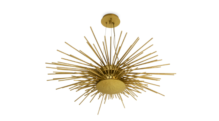 lighting How a lighting product can make up any room soleil suspension light 1 HR