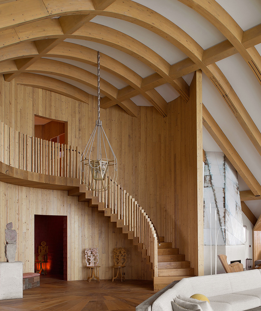 pierre yovanovitch Pierre Yovanovitch - Between Geometry and Modernity A Swiss chalet