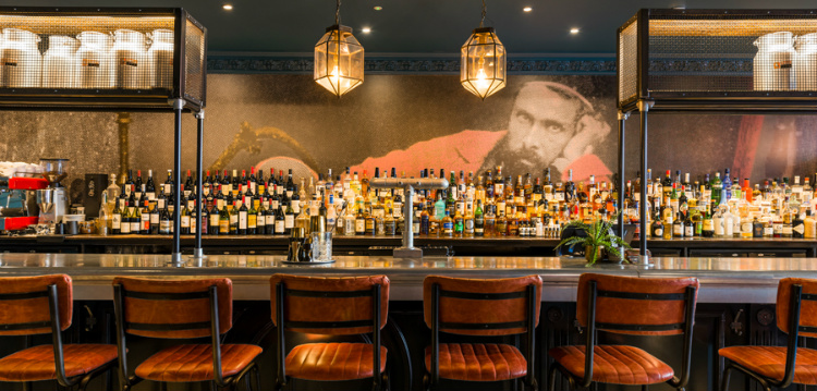 Brit List Top 25 Designers – The Brit List 2018 Baba Edinburgh back bar