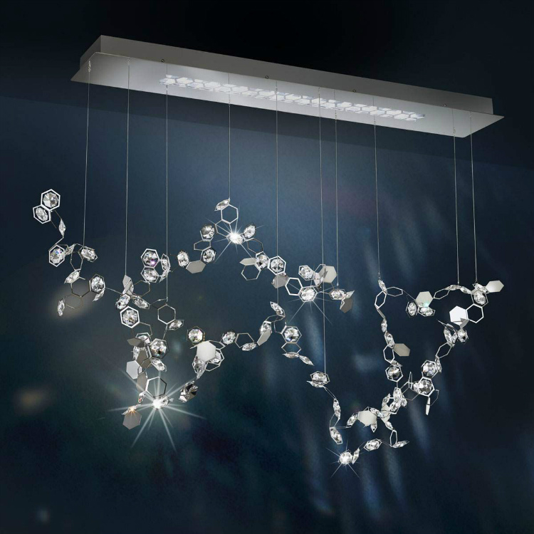 bdny Everything you need to know about BDNY Crystalon LED Haengeleuchte mit Swarovski 117cm von Swarovski 1482777739