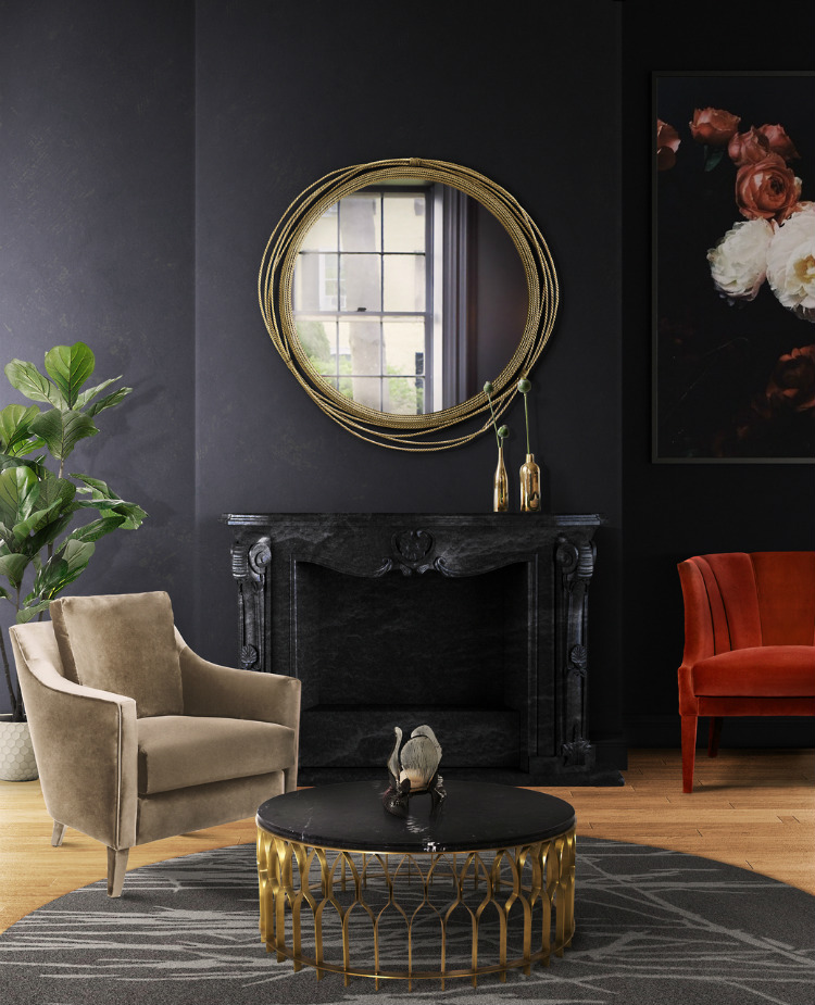 wall mirrors wall mirrors Stunning wall mirrors for your living room Kayan Mirror