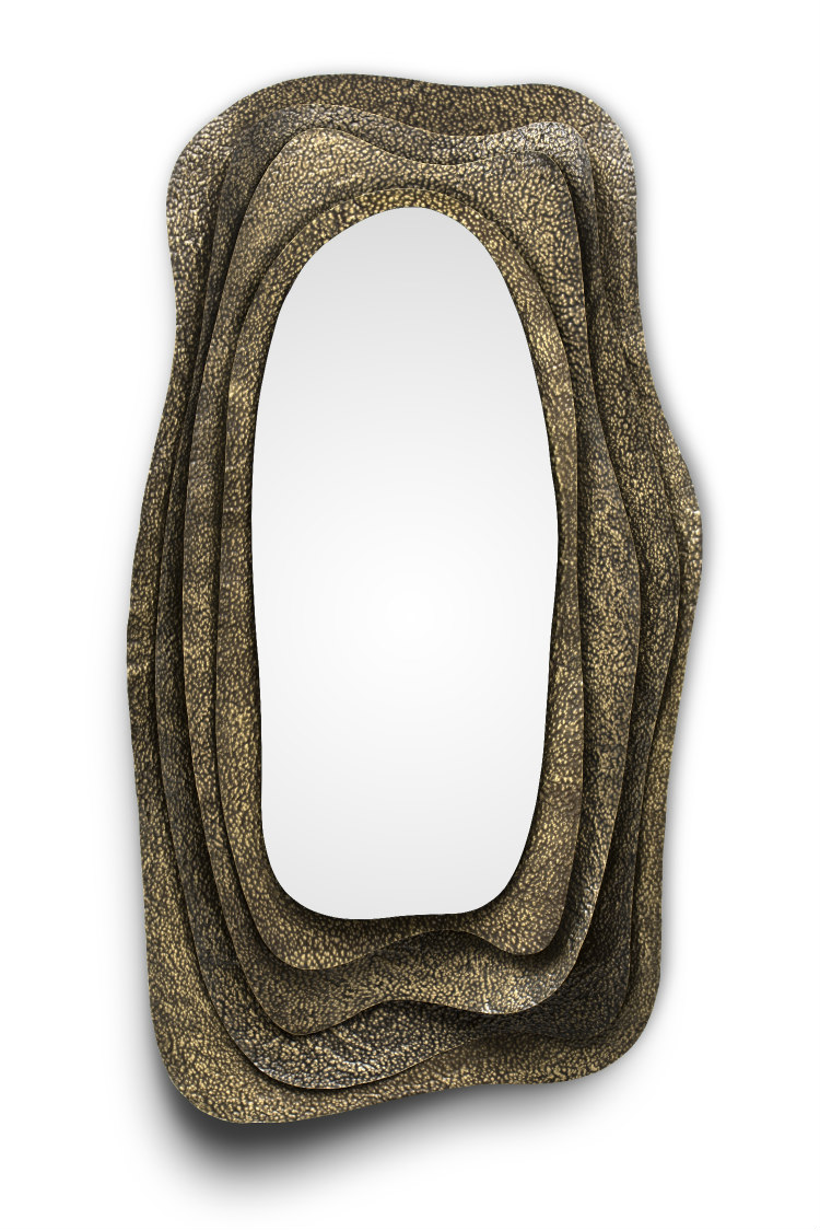wall mirrors wall mirrors Stunning wall mirrors for your living room Kumi Mirror 2