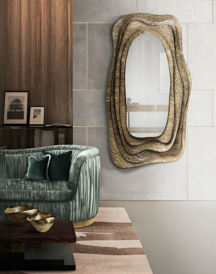 wall mirrors wall mirrors Stunning wall mirrors for your living room Kumi Mirror