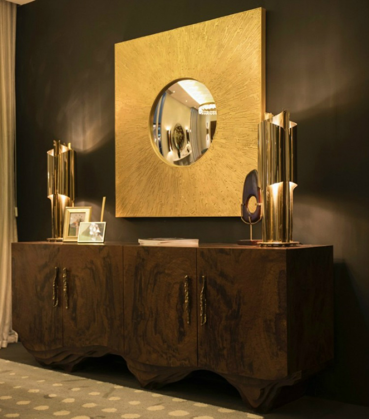 wall mirrors Stunning wall mirrors for your living room Remarkable Wall Mirrors That Add Interest